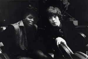 James Brown & Mick Jagger
