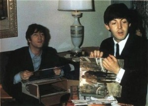 vinyl lovers john and paul