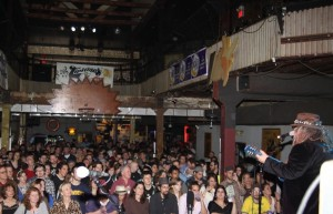 Papa at Tipitina's crowd shot, 2012 by Bob Compton